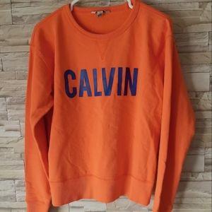 Calvin Klein Women's Orange Sweater